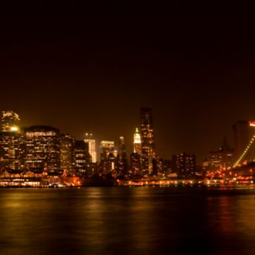 Manhattan skyline 2 - color by piasek