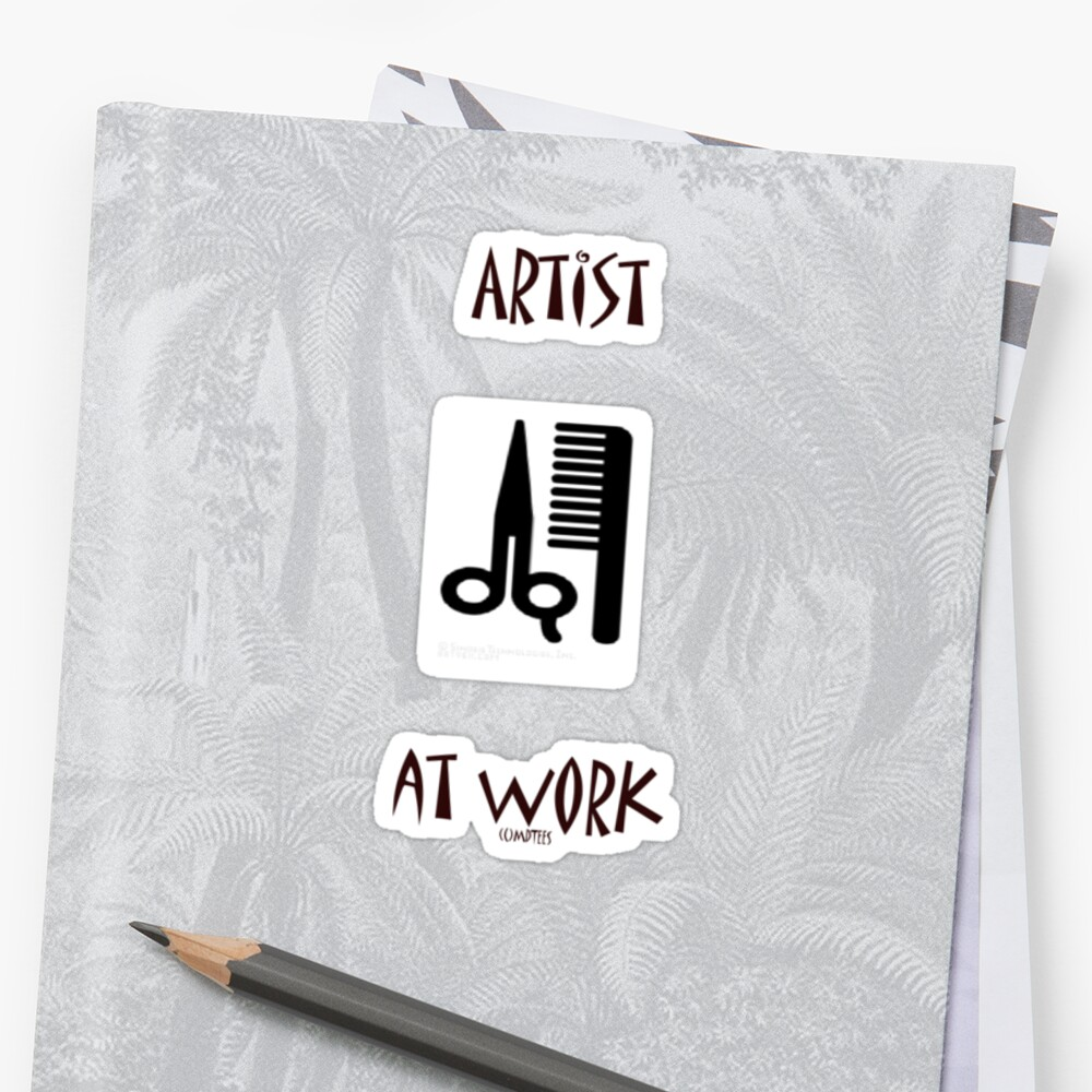 Artist at work by michelleduerden