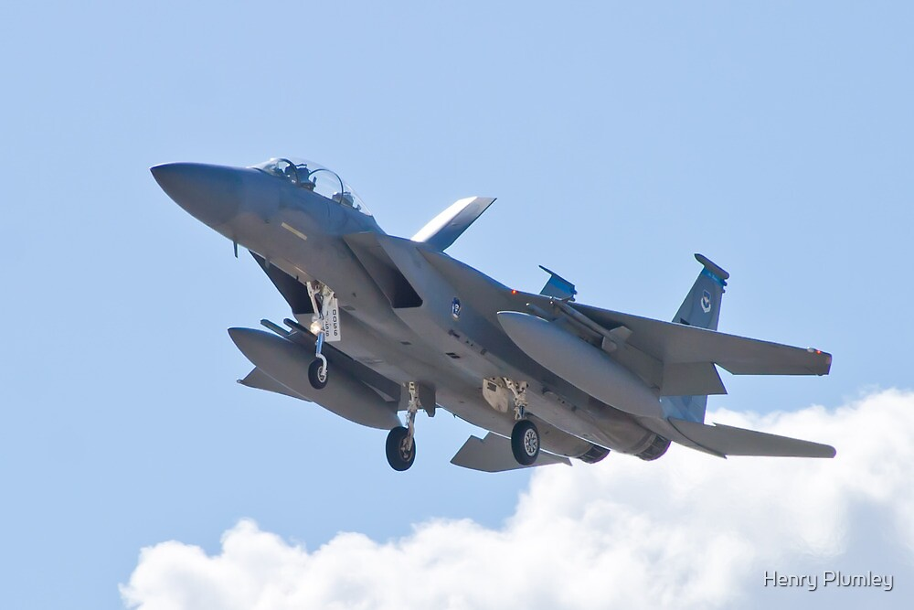 F-15D Eagle, #TY AF 80 0056 Landing by Henry Plumley