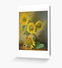 Tournesol Greeting Card