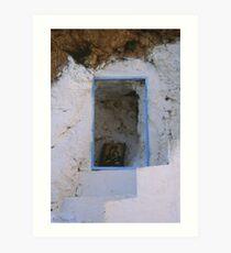 Crete - Stairways to heaven Art Print