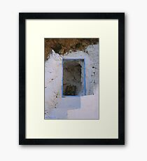 Crete - Stairways to heaven Framed Print