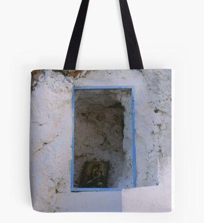 Crete - Stairways to heaven Tote Bag