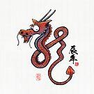 辰年 Year of the Dragon (red) by 73553
