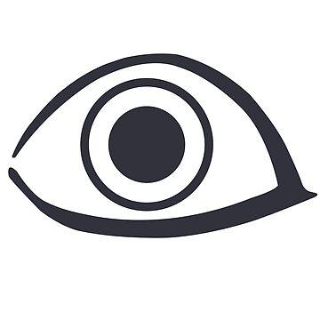 Eye - Noragami by KingRedbad