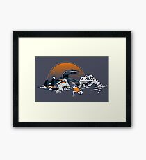 88 Million Years Ago... Framed Print