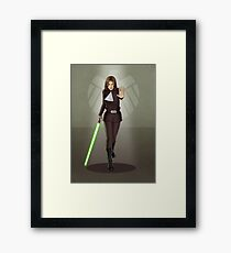 A Galaxy Far Away - Daisy Framed Print