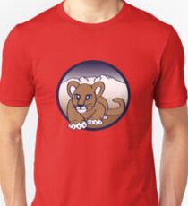 Little Puma Stalking From the Mountains. T-Shirt