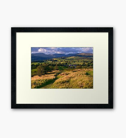 The View from Orrest Head - The Lake District Framed Print