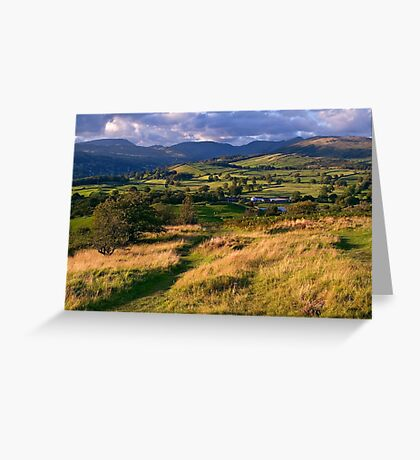 The View from Orrest Head - The Lake District Greeting Card