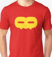 Crazy 88 Large Mask (yellow) Unisex T-Shirt