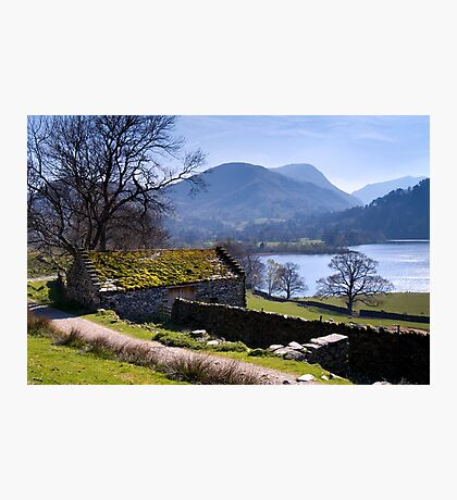 Traditional Barn - Ullswater - The Lake District Photographic Print