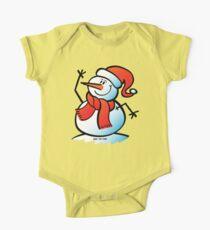 Snowman Waving Kids Clothes