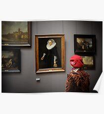 Madame à Louvre Poster