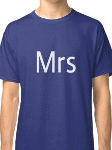 Mrs Adobe Photoshop Themed Classic T-Shirt