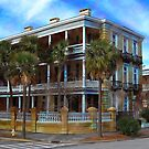 Charleston Mansion by Kathy Baccari