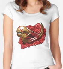 Chestburster  Women's Fitted Scoop T-Shirt