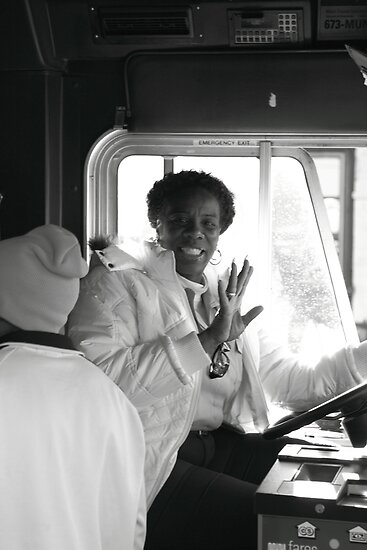 Entertaining Tram Driver by Glynn Jackson