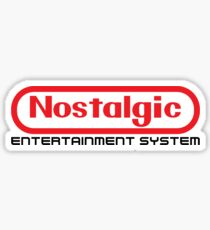 NES Collection : Nostalgic Entertainment System Sticker