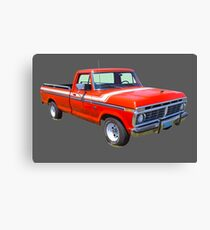 1975 Ford F100 Explorer Pickup Truck Canvas Print