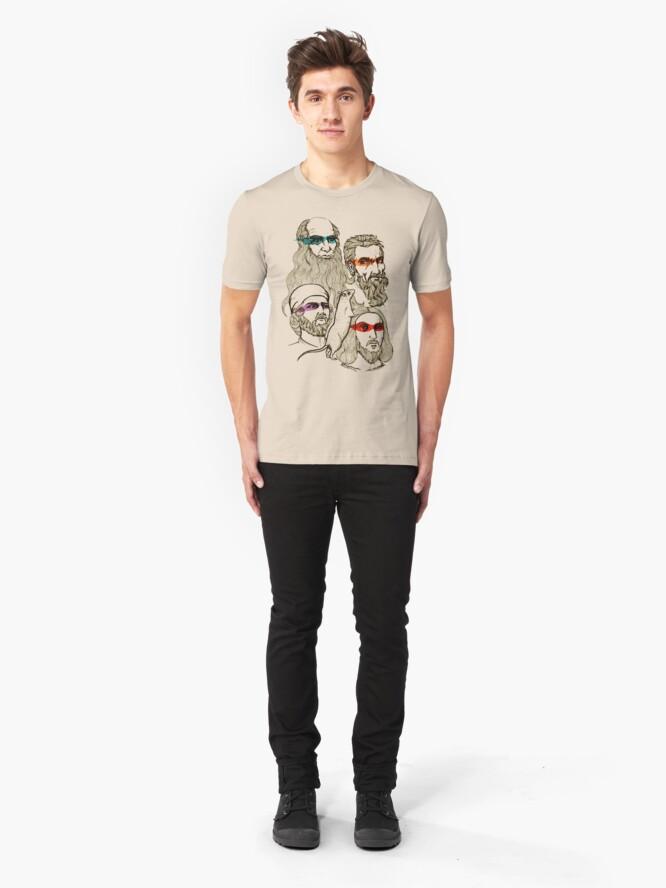 Alternative Ansicht von TMNT Slim Fit T-Shirt