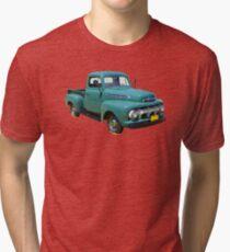1951 ford F-1 Antique Pickup Truck Tri-blend T-Shirt