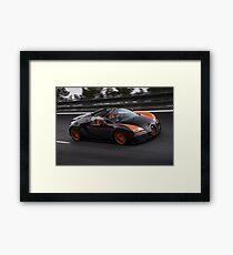 Bugatti Veyron Vitesse WRC Framed Print