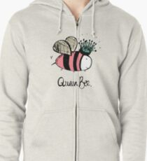 Queen Bee Zipped Hoodie