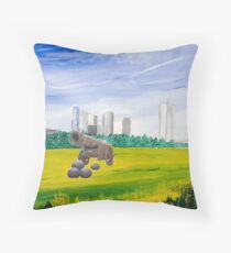 The Tsar On A Visit Throw Pillow