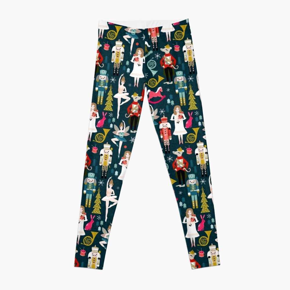 Nutcracker Ballet by Andrea Lauren  Leggings