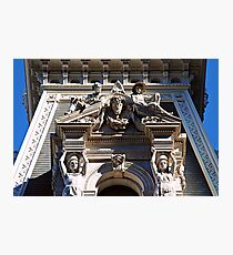 Statuary-Philadelphia City Hall Photographic Print