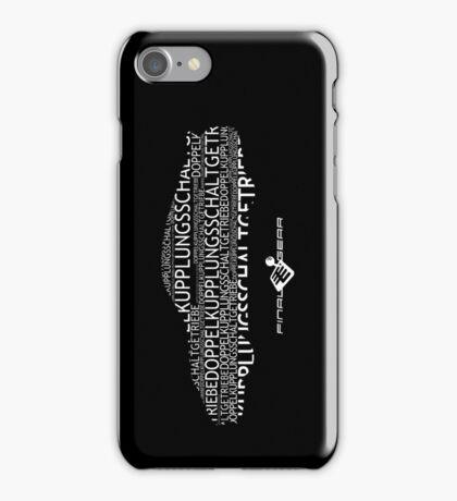 Doppelkupplungsgetriebe iPhone Case/Skin