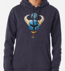 Sudadera con capucha Low-Poly Shovel Knight