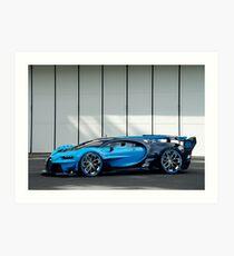 Lámina artística Bugatti Vision Gran Turismo