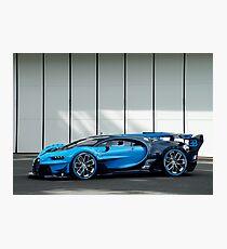 Bugatti Vision Gran Turismo Fotodruck