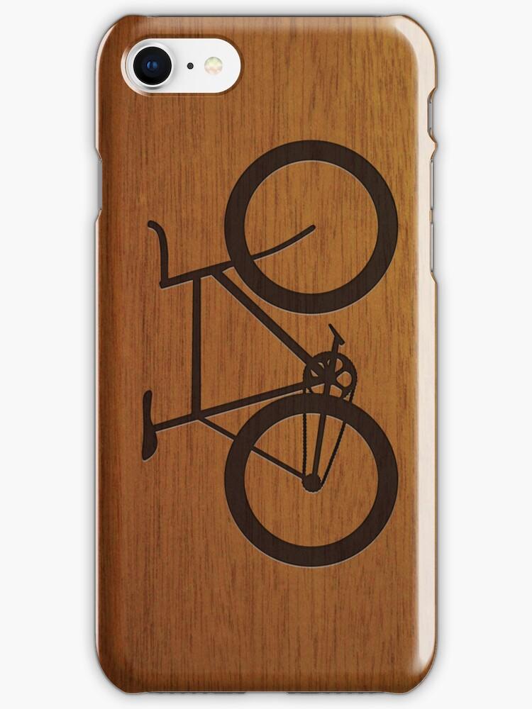Bike ~ Wood Silhouette by hmx23