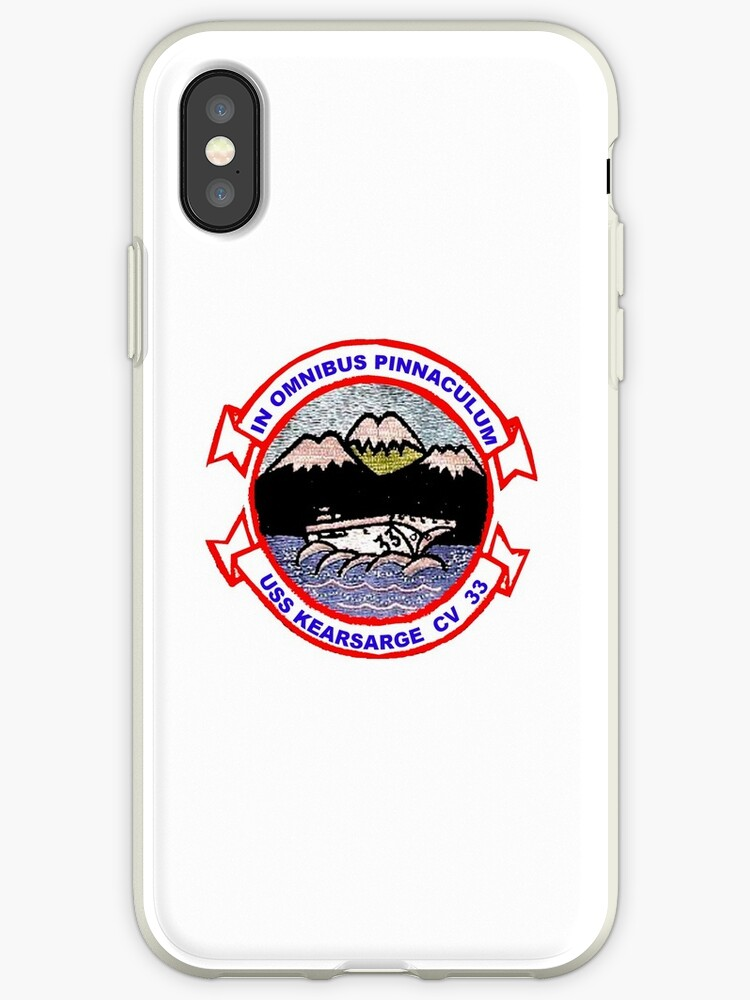 huge selection of 483b0 a0db2 'USS Kearsarge (CV/CVA/CVS-33)' iPhone Case by Nikki SpaceStuffPlus