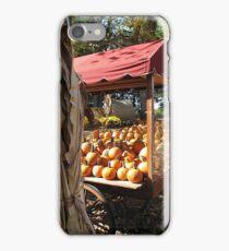 The Pumpkin Cart iPhone Case/Skin