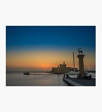 Rodos Island Photographic Print