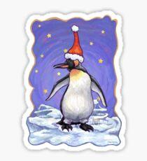 Pegatina Penguin Christmas