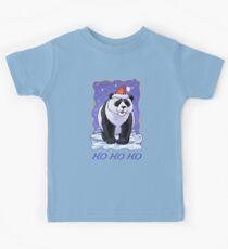 Panda Bear Christmas Card Kids Tee
