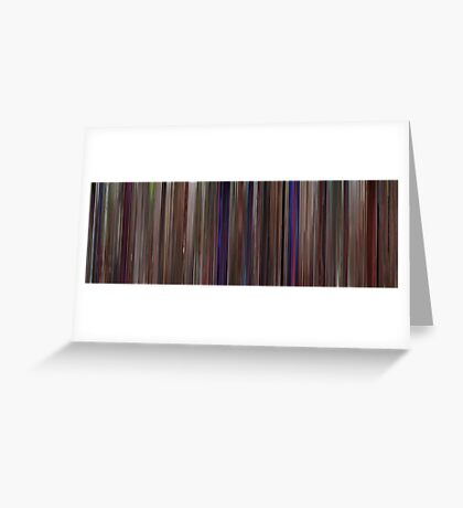 Moviebarcode: This Is Spinal Tap (1984) Greeting Card