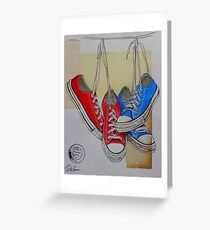 hanging around Greeting Card