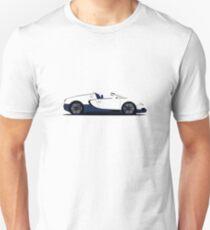 2011 Bugatti Veyron 16.4 Grand Sport Matte White T-Shirt