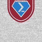 PowerShell Emblem - Red by myclubtees