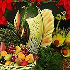 。◕‿◕。 ☀ ツFestive Christmas Display~ Fruits Vegtables & Herbs 。◕‿◕。 ☀ ツ by ✿✿ Bonita ✿✿ ђєℓℓσ