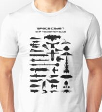 Space Cadet Ship Recognition Guide Unisex T-Shirt