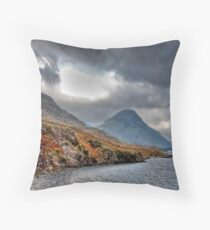 Wast Water - Lake District Throw Pillow