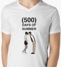 500 DAYS OF SUMMER Men's V-Neck T-Shirt