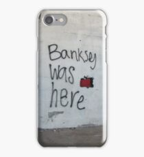 Banksey iPhone Case/Skin